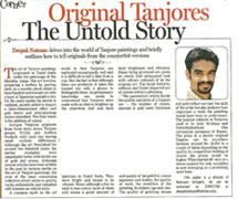 Original Tanjores The Untold Story